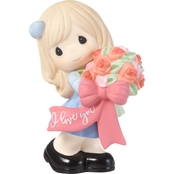 Precious Moments I Love You (Girl) Figurine