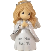 Precious Moments Love Never Gives Up Angel Figurine