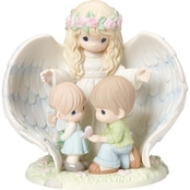 Precious Moments May Your Guardian Angel Watch Over You Sculpture