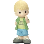 Precious Moments Mom You're Awesome Boy Figurine