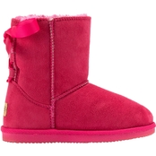 Apres Toddler Girls Bow Velcro Boots