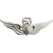 Army Badge Regular Mirror Finish, Master Aircraft Crewman