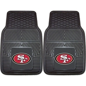 Fan Mats NFL Vinyl 17 x 27 in. 2 pc. Car Mat Set