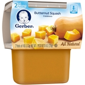 Gerber 2nd Foods Butternut Squash 4 Oz. 2 Pk.