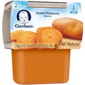 Gerber 2nd Foods Sweet Potatoes 4 Oz. 2 Pk.