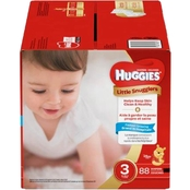 Huggies Little Snugglers Diapers Size 3 (16-28 lb.)