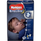 Huggies OverNites Diapers Size 6 (35+ lb.) 18 ct.