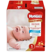 Huggies Little Snugglers Diapers Size 1 (up to 14 lb.) 100 ct.