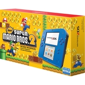 Electric Blue 2 with New Super Mario Bros 2 (Nintendo 2DS)