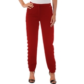 Armani Exchange Crepe Pants with Side Detail