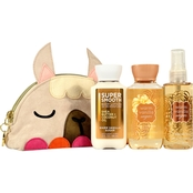 Bath & Body Works Warm Vanilla Sugar Mini Cosmetic Bag Gift Set