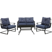Blue Lagoon 4 pc. Patio Sofa Set