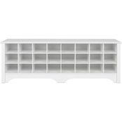 Prepac Shoe Cubby Bench 60 In.