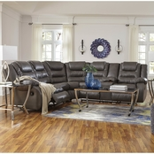 Ashley Walgast Reclining Sectional with Storage Console