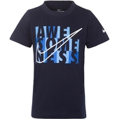 Nike Little Boys Awesomeness Blocks Tee