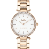 COACH Women's Park Two Tone Stainless Steel Bracelet 34mm Watch 1450309