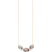 Spartina 449 Goldtone Shell Point Spike 28 in. Necklace