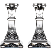 Waterford Lismore Candlestick Pair 6 in.