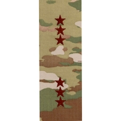 Air Force Officer Lieutenant General Pt-Ct 1 in. Sew-on O-9 (OCP)