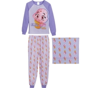 Squishies Girls Chill Out 2 pc. Pajama Set with Gift