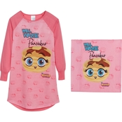 Squishies Girls Will Wake for Pancakes Gown with Gift