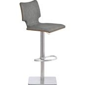 Armen Living Sydney Adjustable Barstool