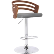 Armen Living Adele Adjustable Barstool
