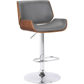 Armen Living London Adjustable Barstool