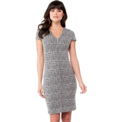 Michael Kors Plaid Jacquard Bodycon Dress
