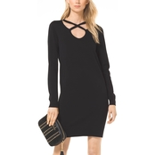 Michael Kors Cutout Neck Dress