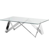 Armen Living Scarlett Coffee Table