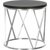 Armen Living Emerald End Table