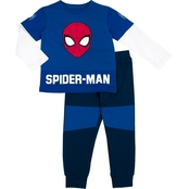 Marvel Little Boys 2 pc. Spider-Man Top and Jogger Pants Set