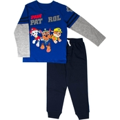 Nickelodeon Little Boys 2 pc. PAW Patrol Top and Jogger Pants Set