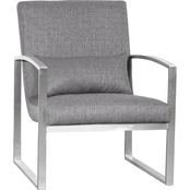 Armen Living Leonard Accent Chair
