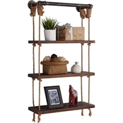 Armen Living Brannon 24 in. Floating Shelf