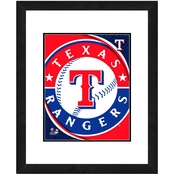 MLB Framed Logo Photo