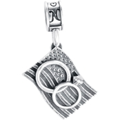 Nomades Sterling Silver We Also Serve Charm