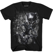 Marvel Boys Smoking Black Panther Tee