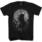 Star Wars Boys Darth Vader Moon Tee