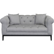 Armen Living Glamour Loveseat