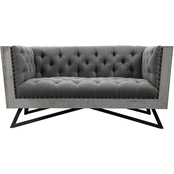 Armen Living Regis Loveseat