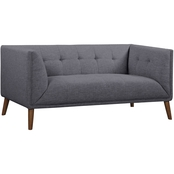 Armen Living Hudson Loveseat