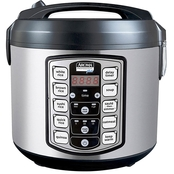 Aroma Professional 20 Cup Digital Rice Cooker, Steamer & Slow Cooker