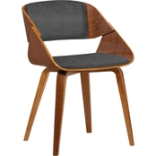 Armen Living Ivy Mid-Century Dining Chair
