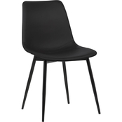 Armen Living Monte Contemporary Dining Chair