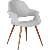 Armen Living Phoebe Mid-Century Dining Chair