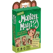 Hoyle Monkey May I Card Game