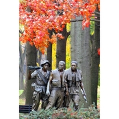 Capital Art The Three Soldiers Statue Wall Decor