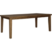 Benchcraft Flaybern Rectangular Butterfly Dining Table